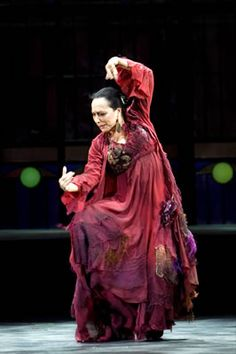 Christina Hoyos - in the history of flamenco, one of Spain's premier dancers