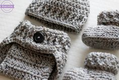The Parker Crochet Diaper Cover - Sewrella