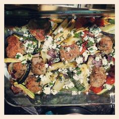 Things I have been cooking lately #20: Lamb and Mediterranean Veg Tray Bake