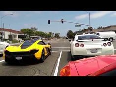 McLaren MP4-12C BUSTED By the Cop! - YouTube