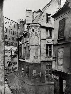 Rue vieille du temple Paris 1858 photo Charles Marville