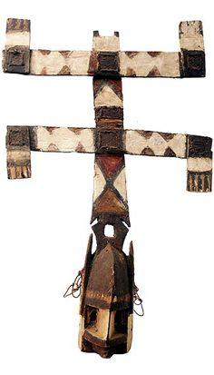 Dogon Kanaga Mask 2, Mali