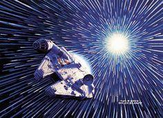 Star Wars Painting by Greg & Tim Hildebrandt