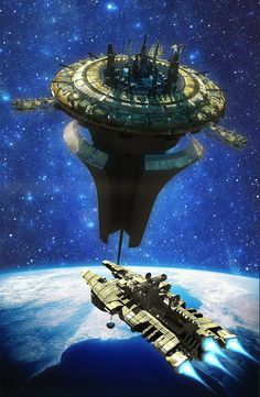 space station / spacestation by Henry Pashkov