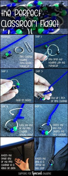 How to Create the Perfect Classroom Fidget - Blog post by Supports for Special Students - Learn how to make a cheap, easy, and effective fidget to support students with ADHD, Autism, sensory processing disorder and other disabilities in the classroom. Great for special education.
