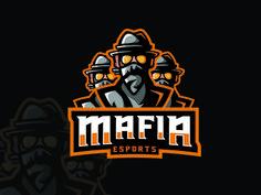 Premade ESports Logo | ESports Mafia Team Logo For Sale by Lobotz Logos Team Logo Design, Mascot Design, Mafia, 100 Logo, Esports Logo, Sports Team Logos, Professional Logo Design, How To Make Logo, Game Logo