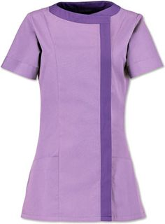 Alexandra NF191 New style  Ladies Asymetric Tunic  Price:£19.40 (£23.28 Including VAT at 20%)	  Alexandra NF191 New style Ladies Asymetric Tunic  Can be embroidered with company logo to add that made for you look A modern, contemporary designed tunic, giving the option for a more distinctive less medical appearance with the functional features of traditional tunics.  With flattering front panel seam. Concealed zip fastening Double back shoulder pleats 195gsm 67% polyester/33% cotton… Beauty Uniforms, Back Shoulder, Modern Contemporary, Tunics, Work Wear, Company Logo, Short Sleeve Dresses, Industrial, Medical