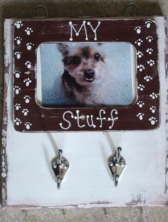 My Stuff - Dog Leash Holder. totally could be DIY @Kristina Kilmer Kilmer Douglas Stanley needs this...