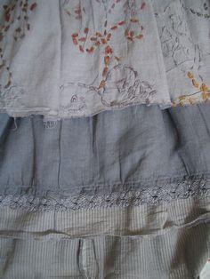 Gorgeous Ewa I Walla Triple Layered Skirt Size M | eBay