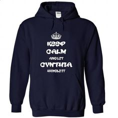 Keep calm and let Cynthia handle it T Shirt and Hoodie - #geek tshirt #sudaderas hoodie. GET YOURS => https://www.sunfrog.com/Names/Keep-calm-and-let-Cynthia-handle-it-T-Shirt-and-Hoodie-2462-NavyBlue-26501599-Hoodie.html?68278