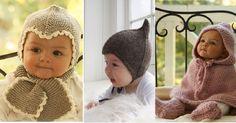 patron bonnet bébé - Il sont tous plus adorables les uns que les autres!