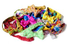 Bright and Beautiful Bow Ties!