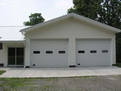 2 car garage with breezeway