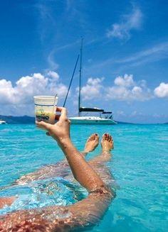 The British Virgin Islands via @Connie Talkmitt Durené Nast Traveler