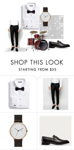 """""""LOOK5"""" by nishadnancy on Polyvore featuring Noak, Yamaha, Bally, men's fashion and menswear"""