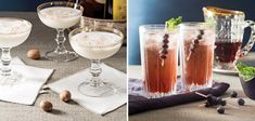 Grab a glass and toast the season with this selection of sensational cocktails fit for any occasion.
