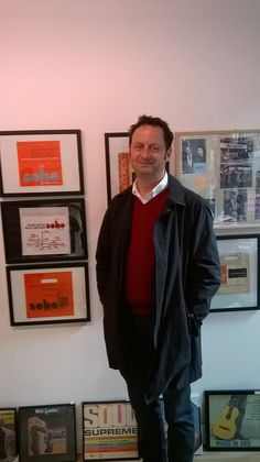 Matt Allwright popped into the exhibition minus the BBC Crew!  https://twitter.com/BRSArchive/status/589183475024064513