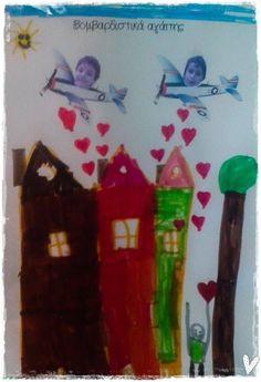 Ο κ.Πάμπλο Πικάσο, οι βομβαρδιστές της αγάπης και τα περιστέρια της Ειρήνης   Τα Απειρωτάκια Peace Crafts, Blog, Preschool, Painting, Kid Garden, Painting Art, Blogging, Paintings, Kindergarten