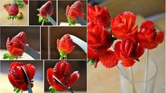 Strawberry Rose Bouquet Tutorial