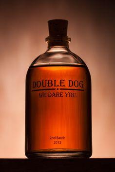 Boyfriend's small batch specialty-aged whiskey [Copyright © 2012 Troy Cherney]