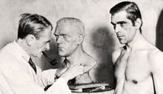 Perhaps the longest-lasting and most memorable image of Frankenstein and his Monster was created in when Universal Pictures released w. Great Films, Movie Monsters, Classic Monsters, Frankenstein Film, Frankenstein 1931, Film, Scenes, Old Movies, Behind The Scenes
