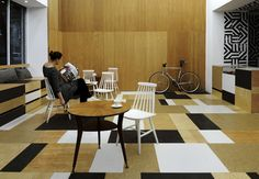 relaks cafe and bike repair shop by super super + moko architects  pinned by www.modelina-architekci.com