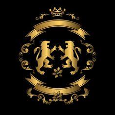 Gold and black background design Free Vector Gold And Black Background, Black Background Design, Glitter Background, Geometric Background, M Wallpaper, Cellphone Wallpaper, S Logo Design, Design Art, Golden Design