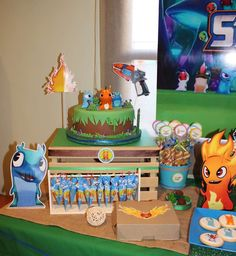 Slugterra Birthday Party Ideas | Photo 9 of 11 | Catch My Party