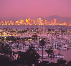 California port...as from a dream..