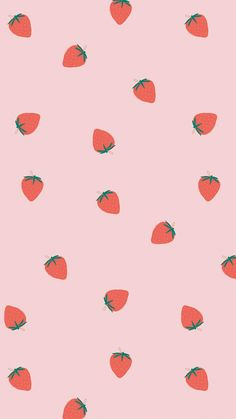 Download premium image of Hand drawn strawberry pattern pastel background by marinemynt about pastel pattern, aesthetic pink pic, aesthetic food pattern, strawberry pattern, and aesthetic 2704525