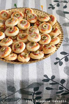 Le pizzette delle Sorelle Simili
