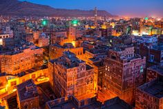 Sana'a, the capital of the Republic of Yemen is one of the oldest continuously inhabited cities in the world.