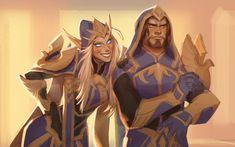 New Screen World Of warCraft sylvanas Popular : Sylvanas Windrunner & Nathanos by Marris makaniart. Art Warcraft, World Of Warcraft Game, Character Portraits, Character Art, Character Design, Elizabeth Ii, Overwatch, Widowmaker, Ranger Armor