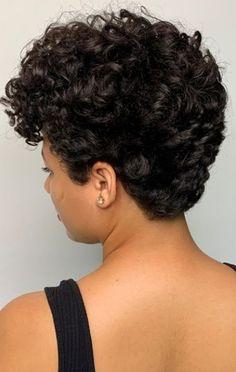 Short Curls, Short Wavy Hair