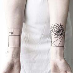 Geometrical & Minimalist Tatoos by Malvina Maria Wisniewska – Fubiz Media