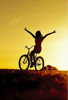 Bicycle girl iphone 5 wallpaper ilikewallpapercom asian girls bicycle ride at golden sunset wallpaper for voltagebd Gallery