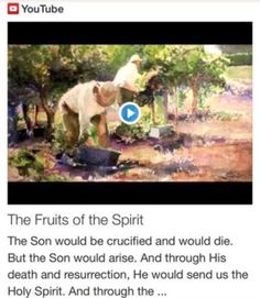 The Fruits of the Spirit from Signs, Science and Symbols of the Prophecy http://www.andrewtheprophet.com/11001/19364.html