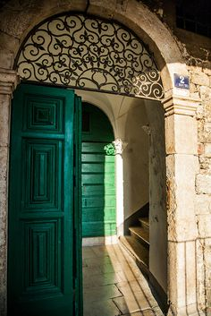 Door in Sibenik