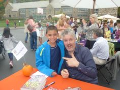 Michael with Michael Buckley at the Chappaqua Children's Book Festival 2013 what could be better thank Michael meeting Michael hope to see you on 9/27/2014.