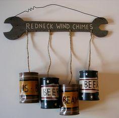 CUTE! Redneck windchimes!=)