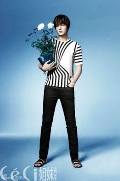 2012 CeCi CHINA (June) P4 of P8 Korean Actor Lee Min Ho as Brand Ambassador of INNISFREE