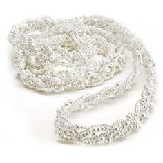 This beautiful white lasso is perfect for use in a Mexican Rope Ceremony also known as a lasso ceremony