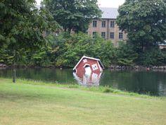 Floating art - Malmö