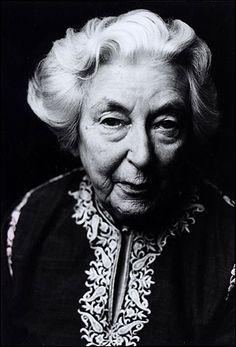 "Rumer Godden, author of one of my favorites, ""In This House of Brede"""