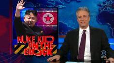Jon Stewarts The Daily Show and Kim Jong-un http://www.youtube.com/watch?v=-zu3rlYKrlk