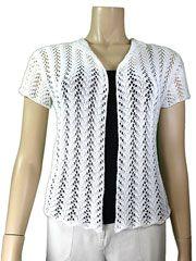 Knit - Charlotte Lace Cardi Knit Pattern - #909226