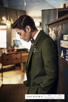SHINHWA 13TH UNCHANGING - TOUCH CONCEPT PHOTO - ERIC