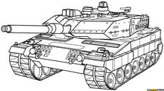 army tank coloring pages free online printable coloring pages, sheets for kids. Get the latest free army tank coloring pages images, favorite coloring pages to print online by ONLY COLORING PAGES. Cars Coloring Pages, Online Coloring Pages, Coloring Pages For Kids, Coloring Books, Tank Drawing, Dragon Birthday Parties, Military Drawings, Printable Coloring Sheets, Ww2 Tanks