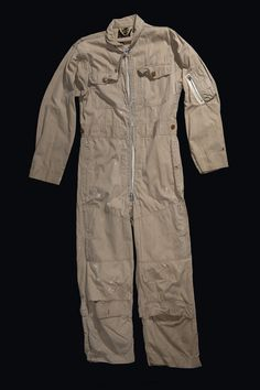October 23, 1962: Cdr. William Ecker flew the first low level reconnaissance mission over Cuba during the height of the Cuban Missile Crisis. The photographs taken by Ecker were used as proof that the Soviet Union installed nuclear ballistic missiles in Cuba.  Pictured here is Ecker's flight suit.