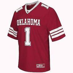 "Oklahoma Sooners Football Jersey NCAA ""Spike It"" Football Jersey"